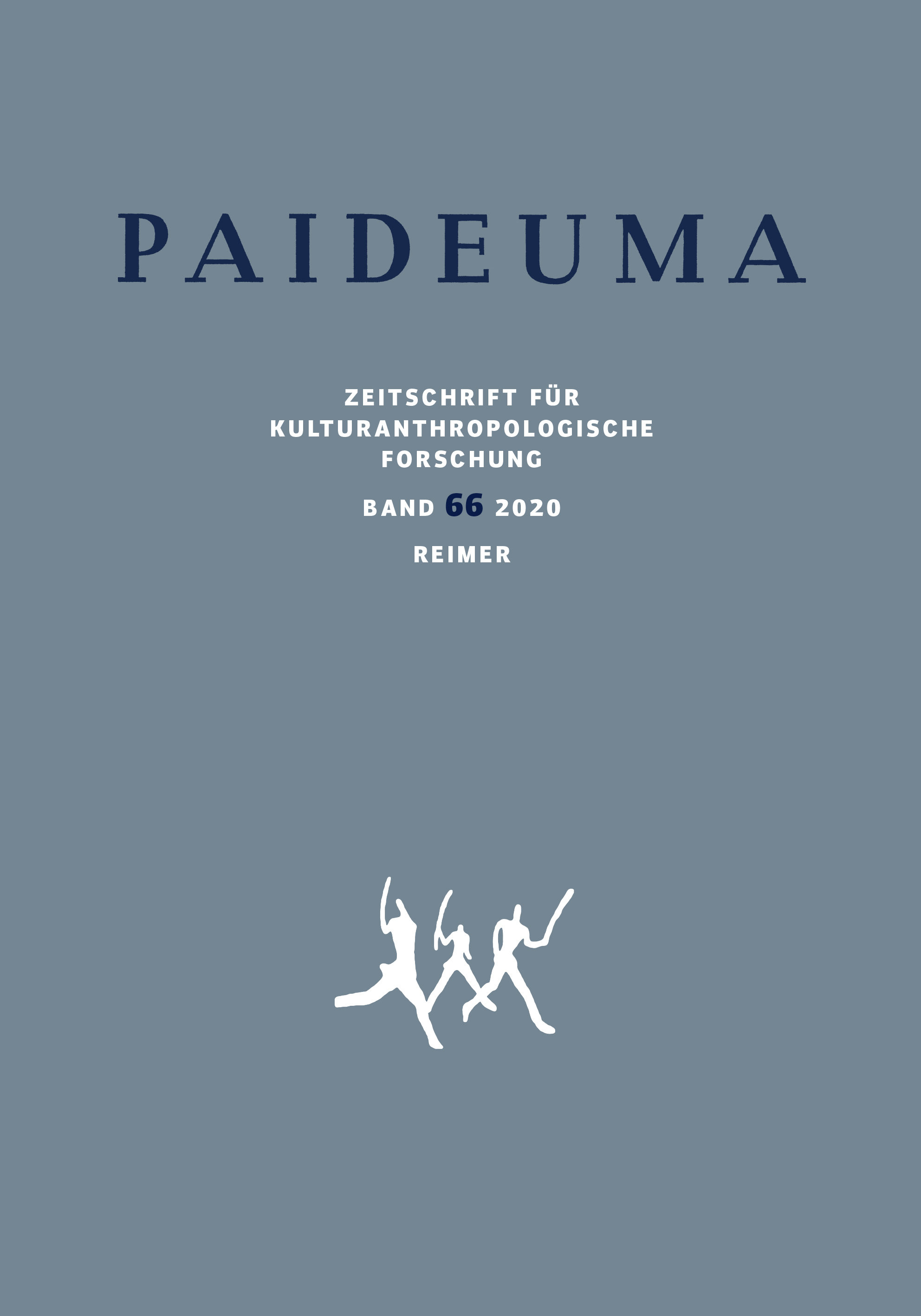 Latest issue of Paideuma out now
